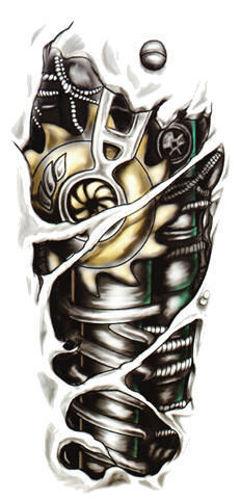 tatouage-ephemere-guerrier