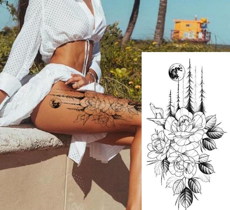 tatouage ephemere