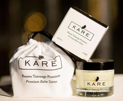 crème cicatrisante tatouage Kare emballage