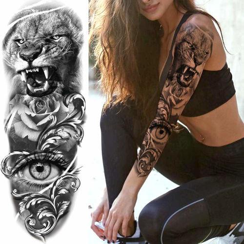 tatouage éphémère manchette pour hommes et femmes