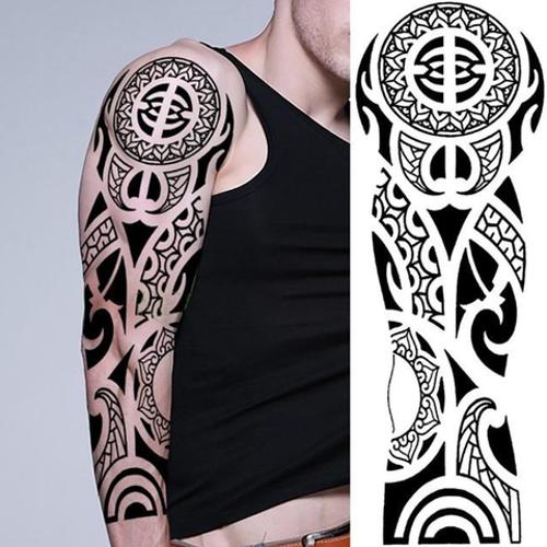 Tatouage éphémère manchette Maori